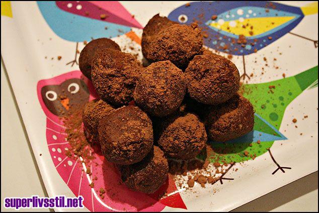 Raw food chocolate