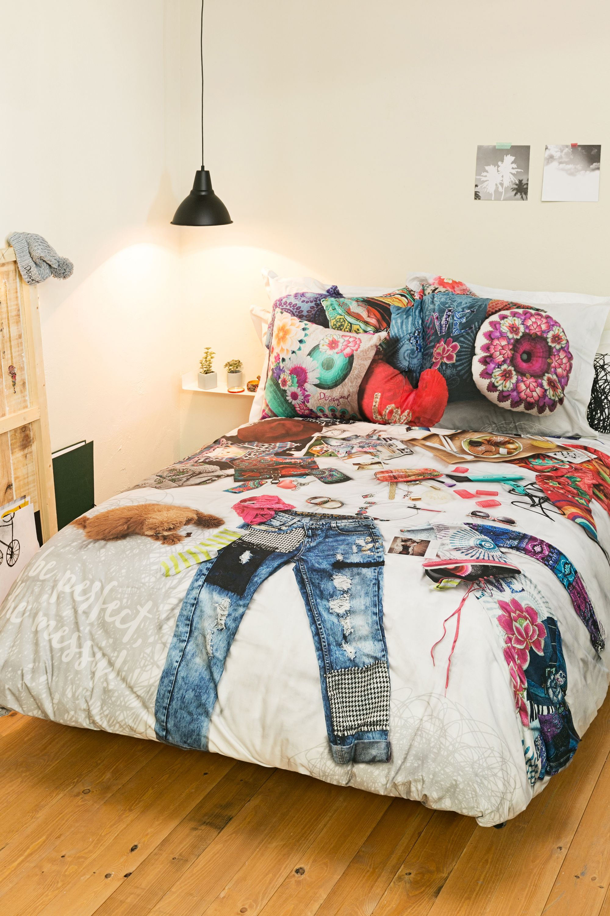 Guilty of leaving your clothes all over your bedsheets? We hear ya