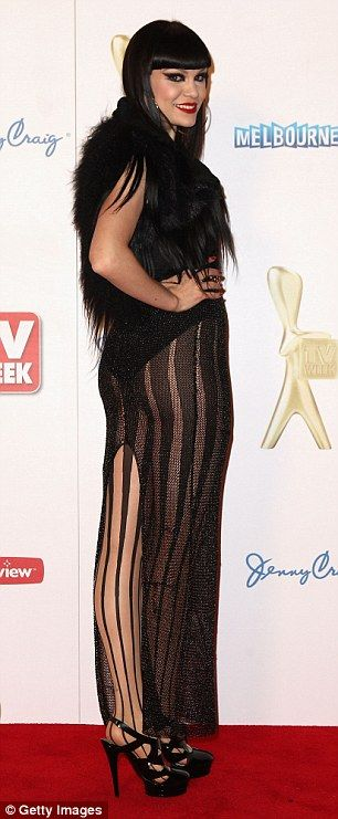 'I looked like a witch': Jessie called her time at the Logies during her visit to Australi...