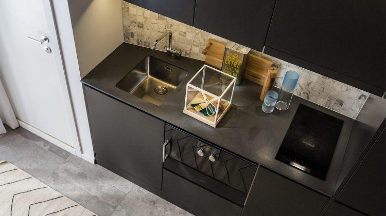 Egy szuper mini lakás terasszal - mindössze 16nm, galériával és fürdőszobával