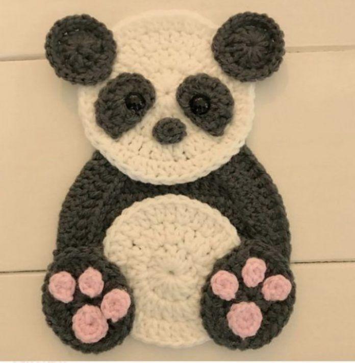 Crochet Animal Appliques Patterns #crochetapplicates