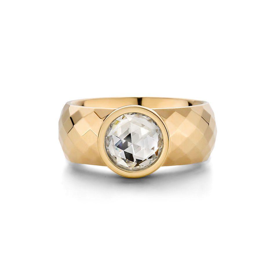 Ringe gold mit stein