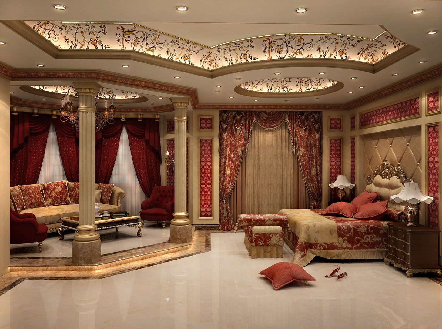 Castle master bedroom - 50 Of The Most Amazing Master Bedrooms We Ve Ever Seen