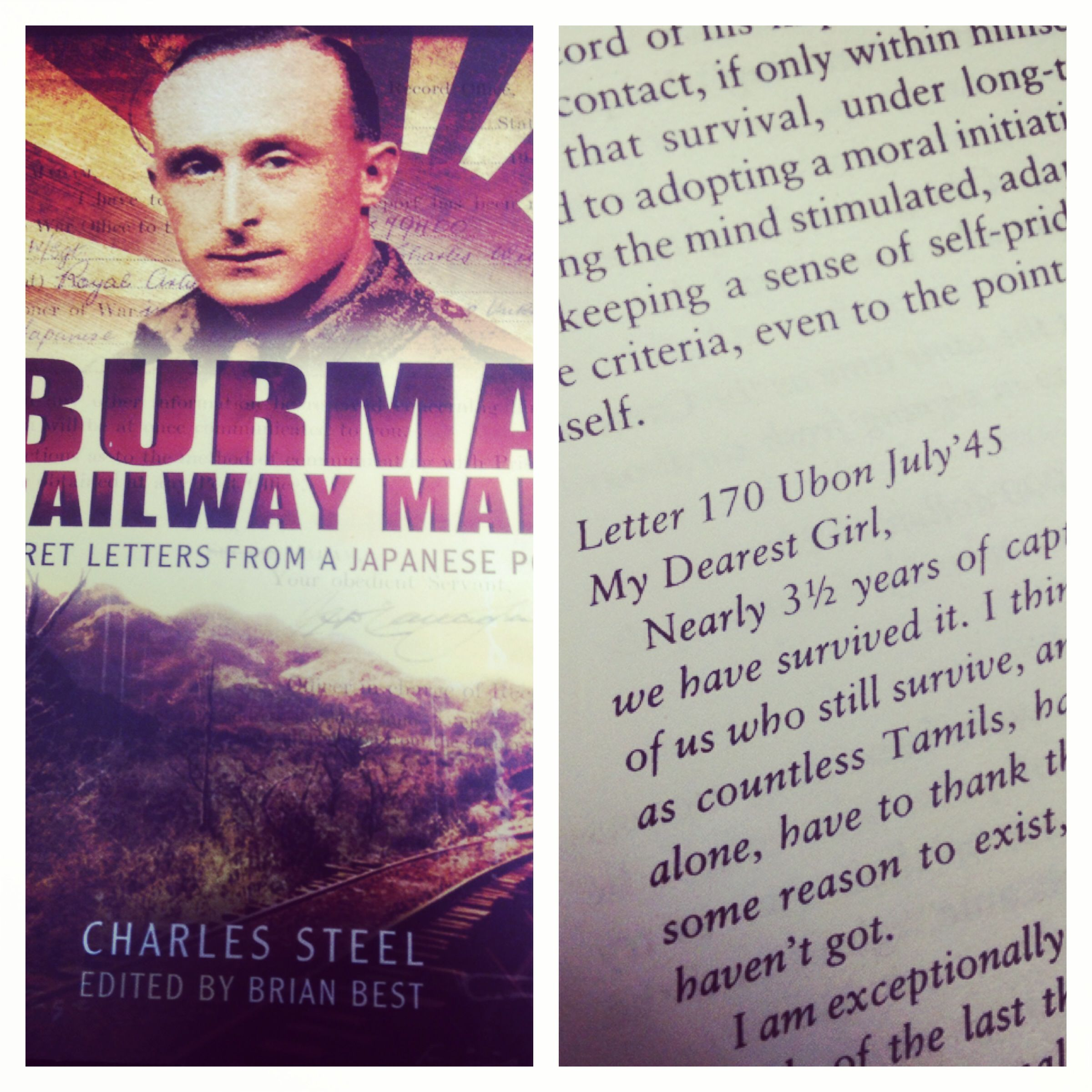 Burma Railway Man Secret Letters from a Japanese POW WW2 love