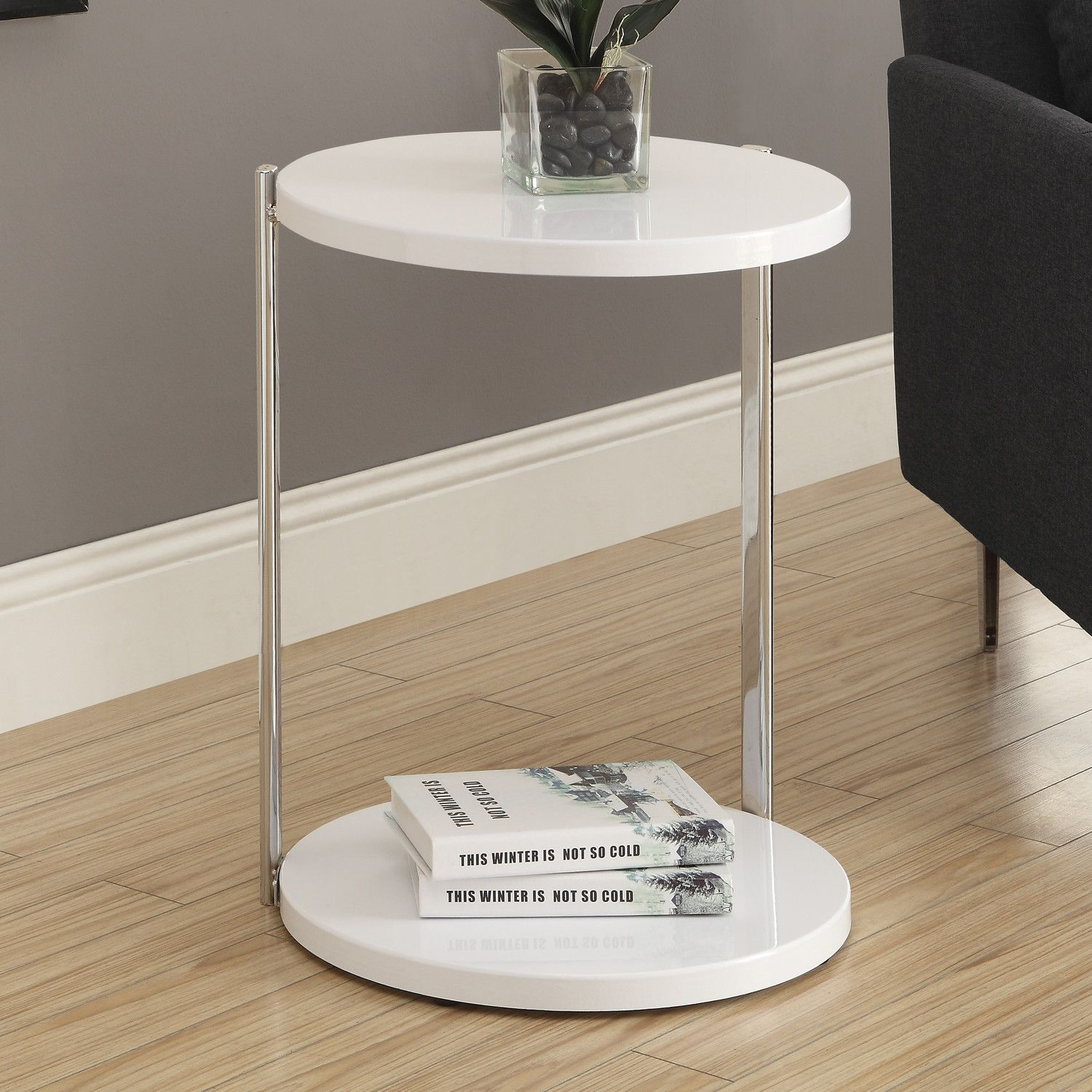 Monarch Specialties Inc Lincoln End Table