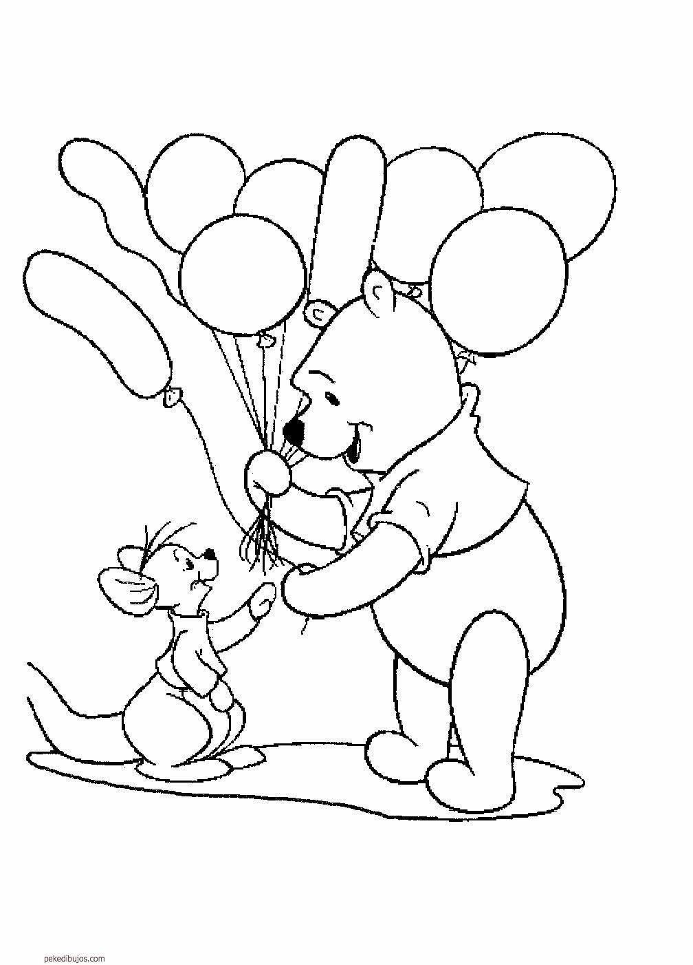 Dibujos De Winnie De Pooh Para Colorear Paginas Para Colorir Da Disney Paginas Para Colorir Cores Disney