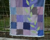 Little Lilac Sprout Crib Blanket