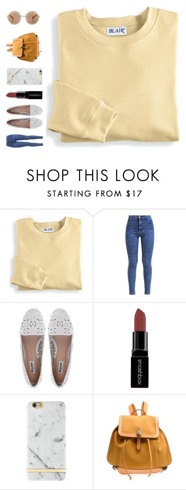 """""""kiss of fire"""" by ouchm4rvel ❤ liked on Polyvore featuring Blair, Miss Selfridge, Dune, Smashbox, Richmond & Finch and Alexander McQueen"""