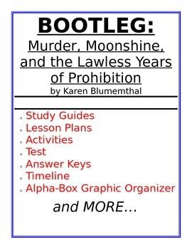Bootleg: Murder, Moonshine, and the Lawless Years of Prohi
