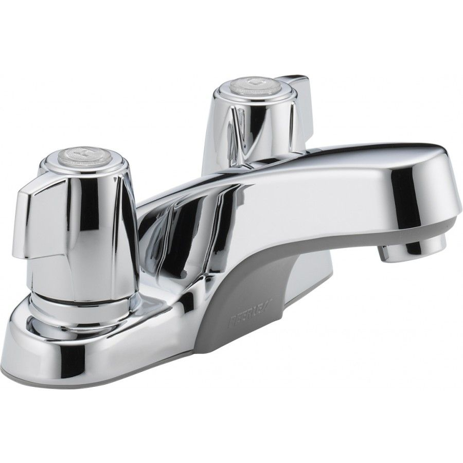 Peerless Faucets Two Handle 10.5 Bathroom Faucet in Chrome - P241LF ...