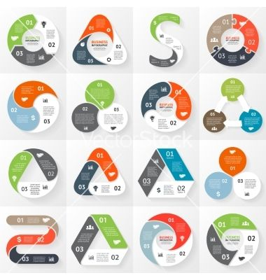 Infographic+diagram+3+options+parts+steps+vector+3423247+-+by+