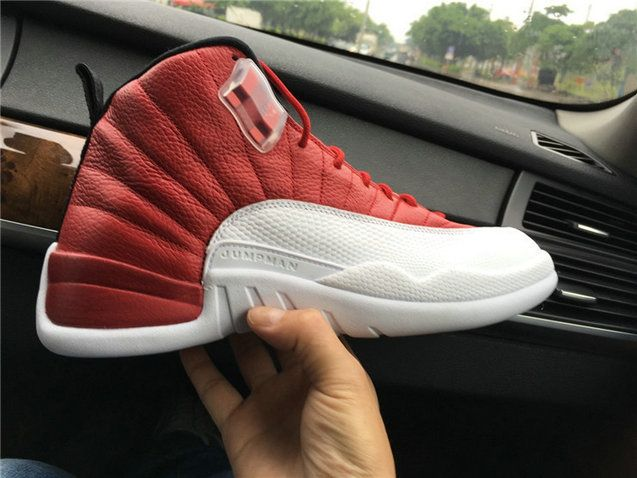Authentic Air Jordan 12 Gym Red AJ12 Basketball Shoes Jordan By Nike