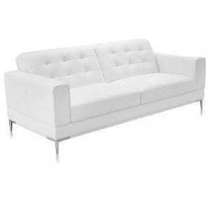 Sensational Modani Bristol 3 Seater White Leather Sofa Sale 1 190 00 Short Links Chair Design For Home Short Linksinfo