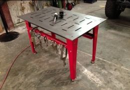Homemade Fabrication Table Welding Table Welding Table Diy Fixture Table
