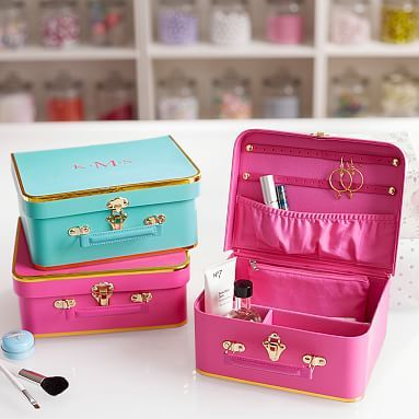 Teen Jewelry Box Beauteous Abigail Jewelry Case #pbteen  Gift  Present Ideas  Pinterest Review