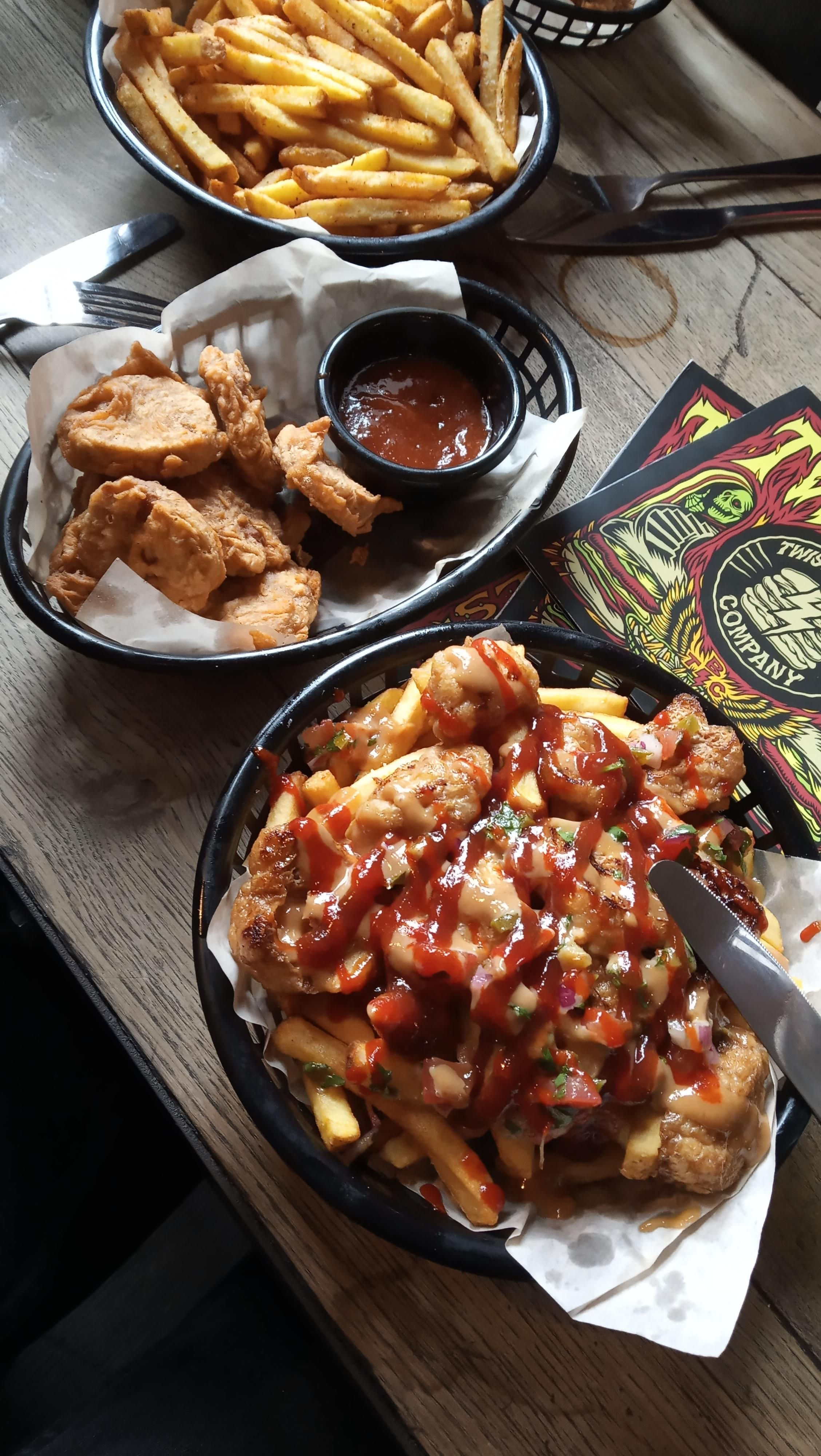 Sichuan Tofu Fries And Seitan Nuggets In Sheffield Uk Food
