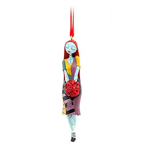 Aww pretty Sally ornament with red sparkly hair! Sally Ornament | Ornaments | Disney Store