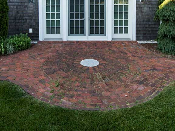 Brick Patio | Round Brick Patio Posted By Andrea Artisan On Sep 9 2012 In  Patios