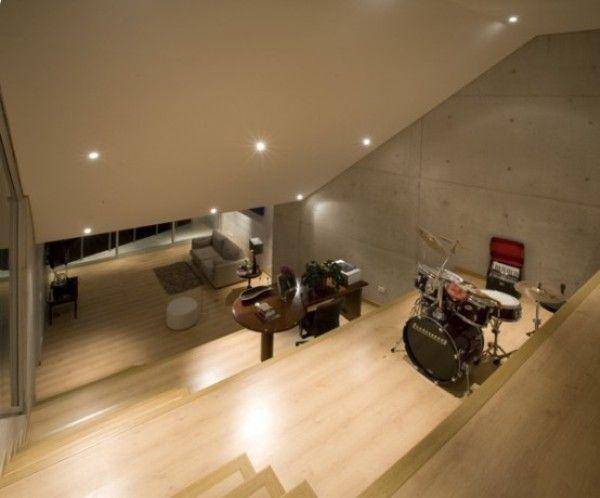 ideas for decorating music room | Home Music Studio Design Ideas ...