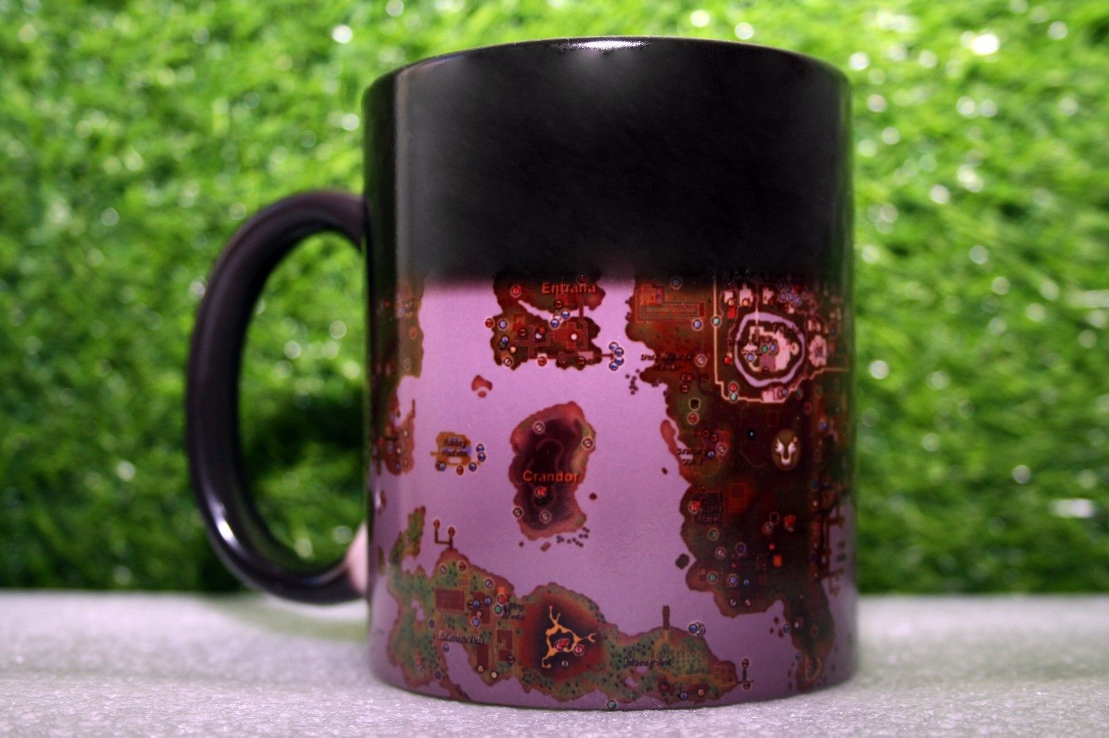 Runescape Rs Mmorpg World Map Old School Game Coffee Magic Color