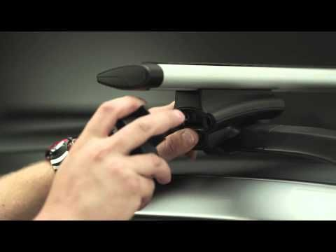 How To Install Thule 450R Rapid Crossroad AeroBlade Roof Rack Presented ...