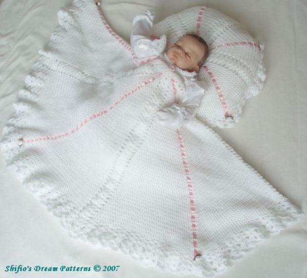 PATTERN in PDF Crochet Pateern Patterns Baby Shawl Afghan ...