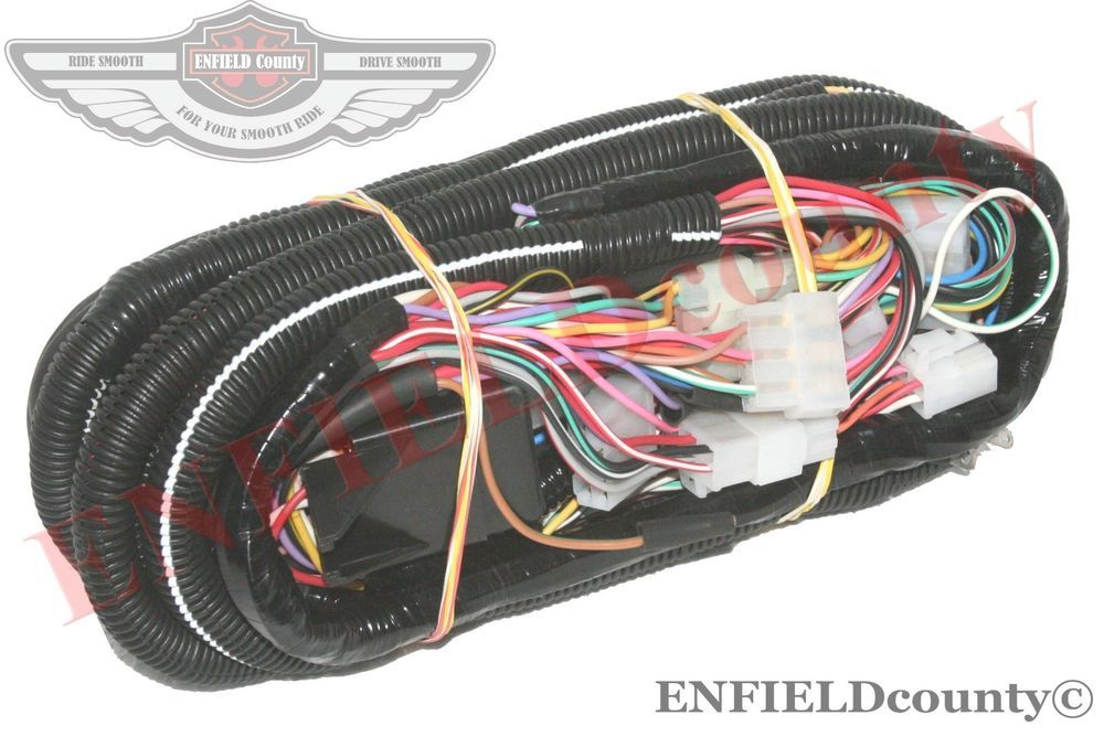 Complete Wiring Harness Loom Assembly With Fuse Box