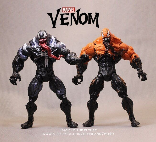 5cm Mini Venom Action Figure Avengers Spider Man Comic Hero Collection