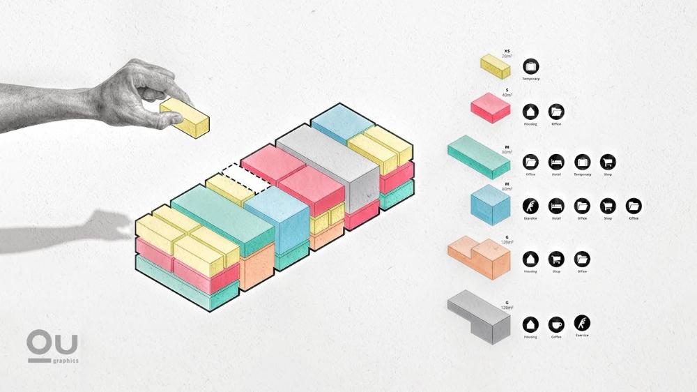 Photo of Architecture Program Diagram in Adobe Illustrator
