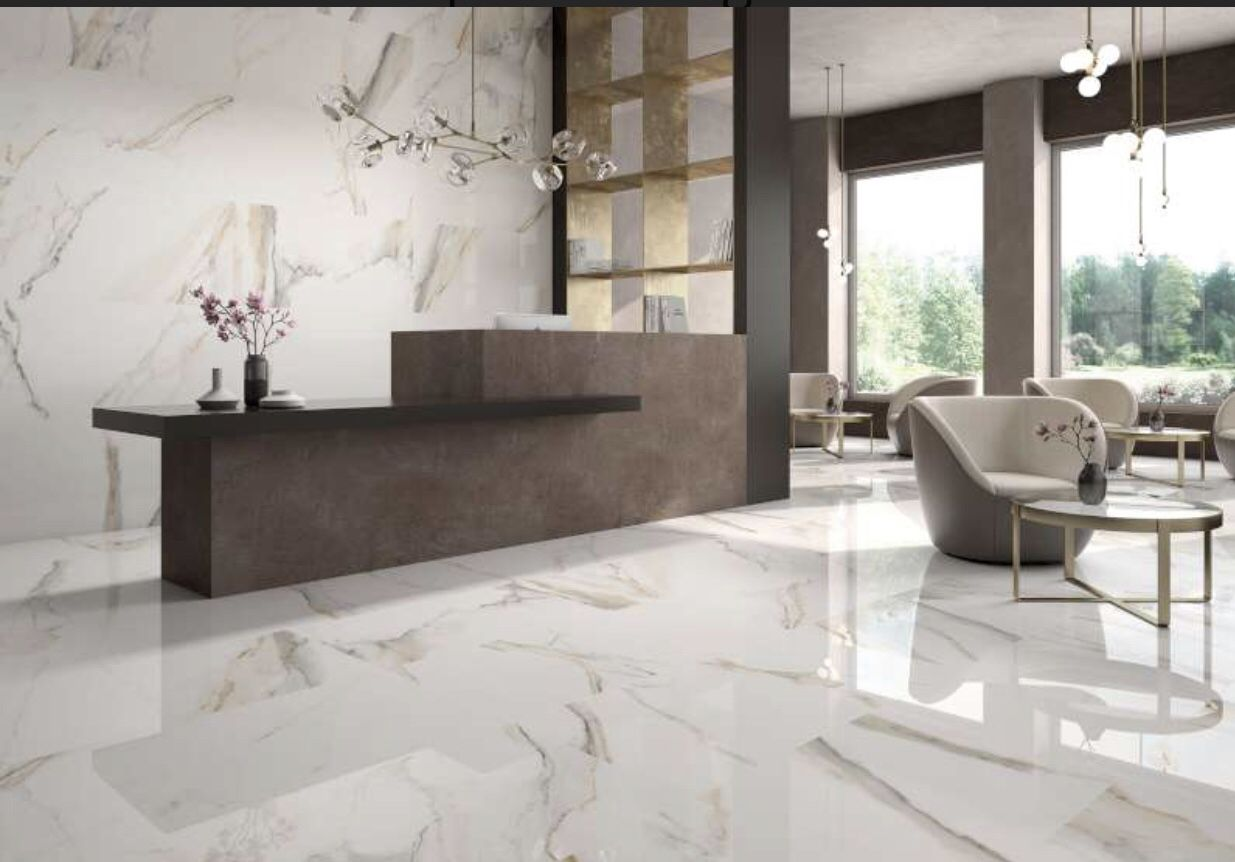 Marble Look Tiles Pavimenti Case Cucine