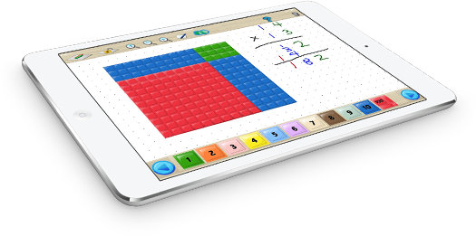 Math U See Manipulatives On Ipad I Like The Worksheet Generator Great For Practicing Math Facts Http M Math U See Homeschool Elementary Homeschool Math
