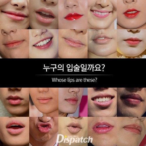 Can You Identify These 20 K Pop Idols By Their Lips Kpop Idol Kpop Lips