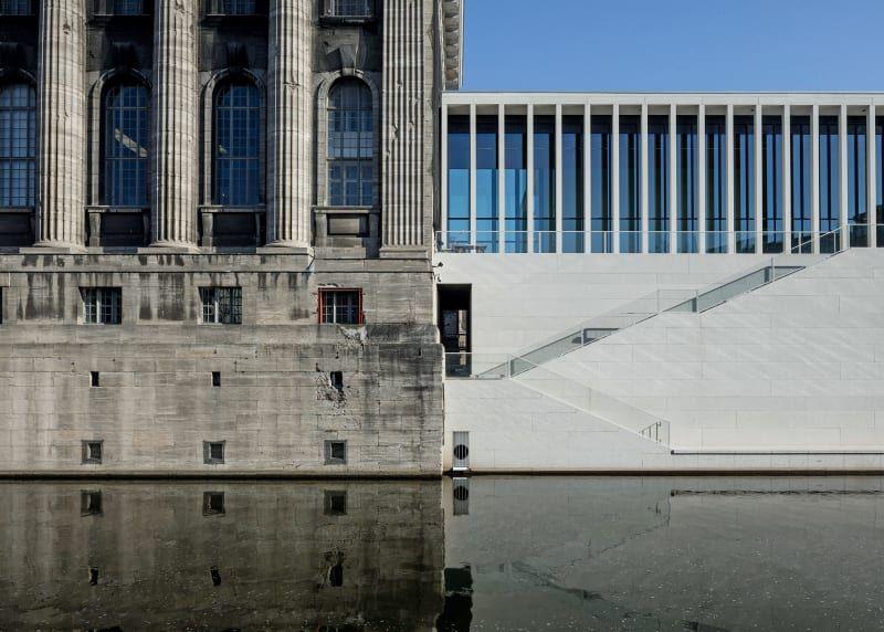 Neue James Simon Galerie Von David Chipperfield Ist Fertig Museum Insel Neues Museum Architektur