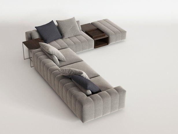Freeman Corner Sofa System N 3d Model By Design Connected Canape En U Mobilier Salon Amenagement Salon