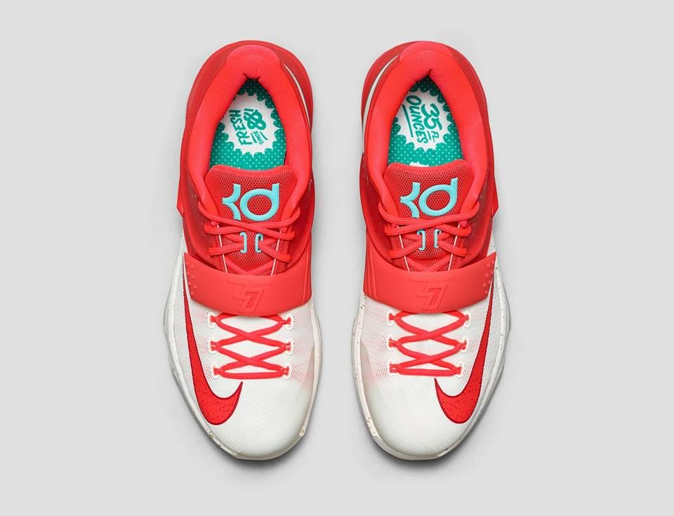ff8c9546f70e ... coupon for nba 2k15 shoe creator nike kd 7 christmas eggnog you f1e52  8192f