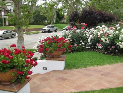 Beautiful Flower Garden Ideas For Small Front Yard In Modern House