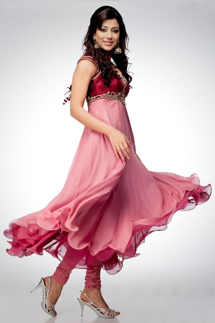 Stylish white dress wedding umbrella frocks churidar designs - Fancy Umbrella Frock Designs Churidar Suits 2015 16 For Women Galstyles Com