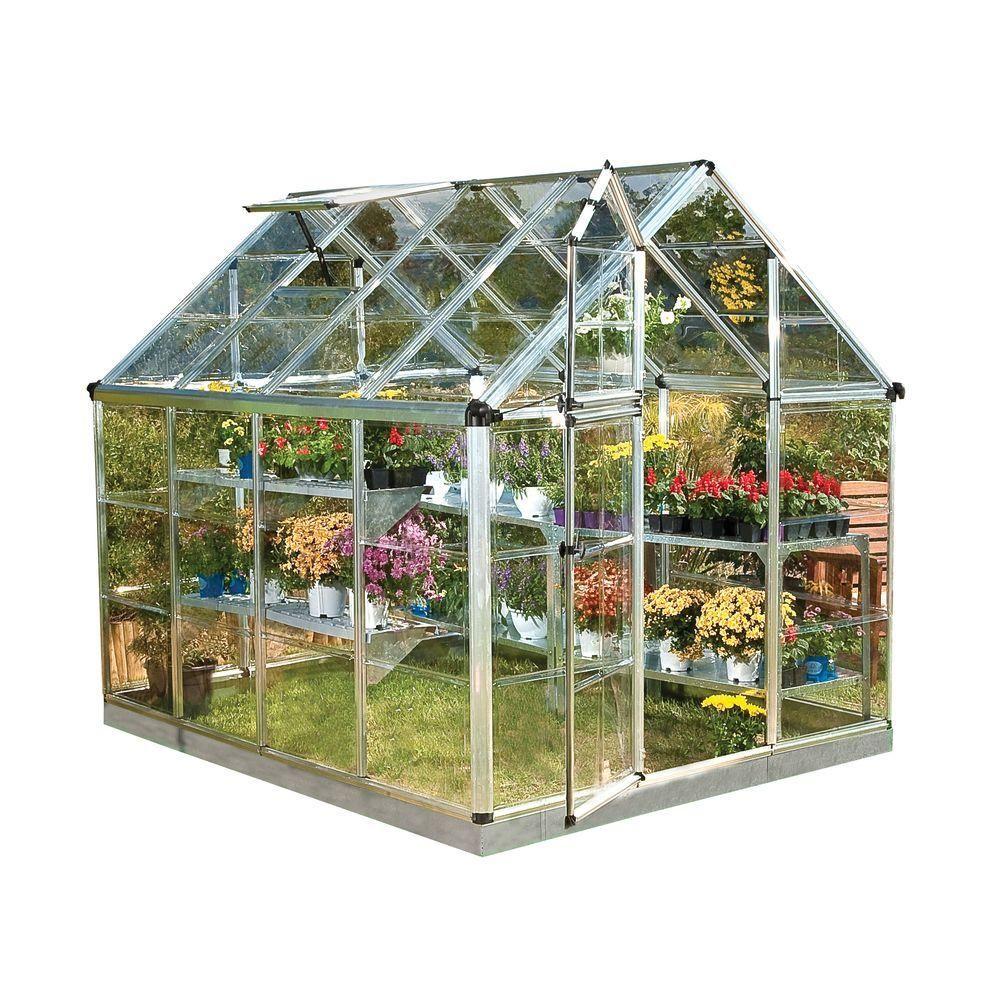 Pin On Jardines Backyard greenhouse home depot