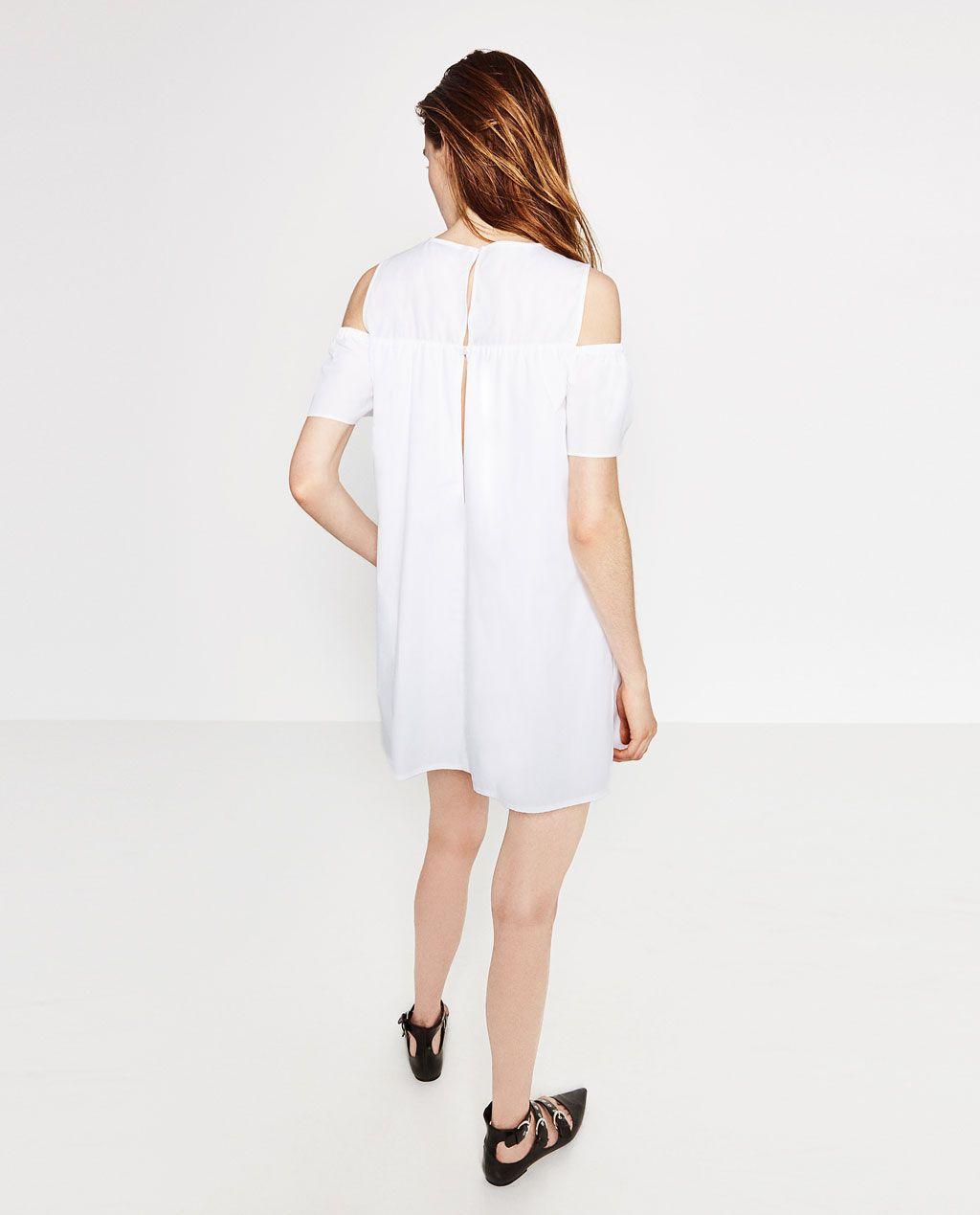 ab9d0f5e59 POPLIN JUMPSUIT DRESS-DRESSES-WOMAN-SALE