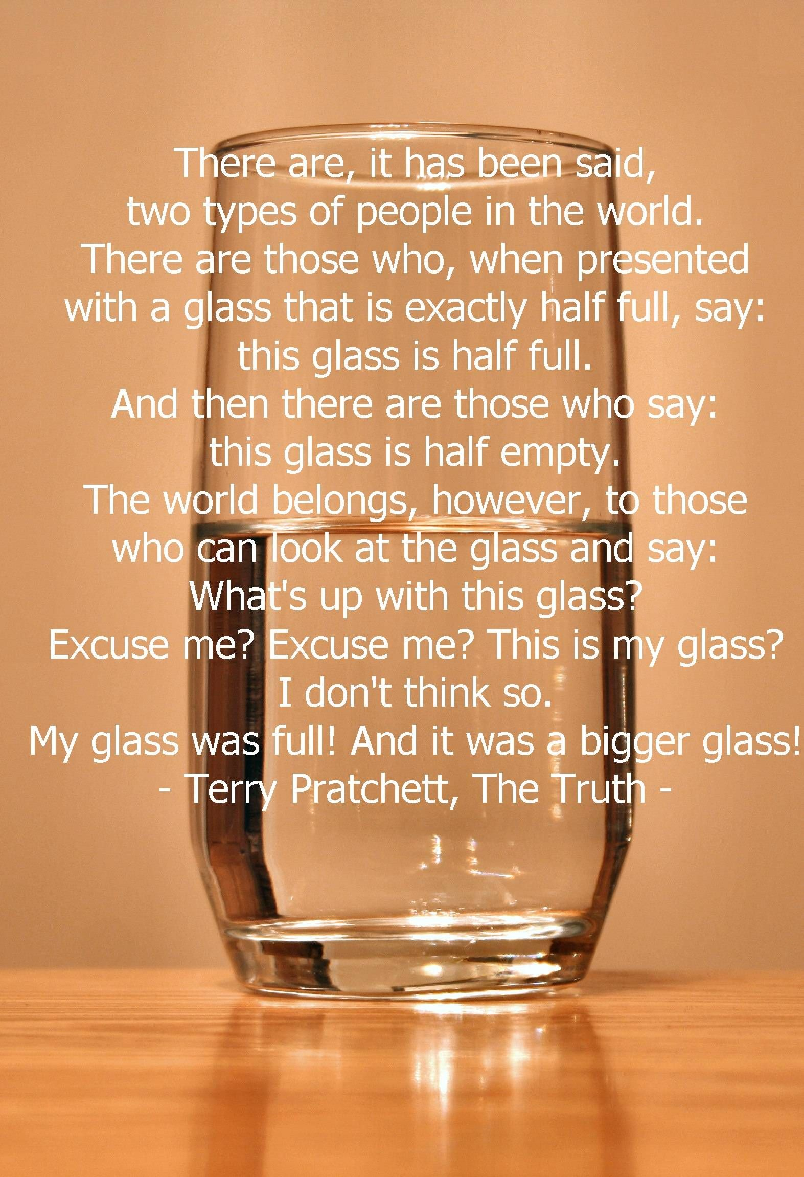 Terry Pratchett The Truth A Quote No Doubt Dedicated To My