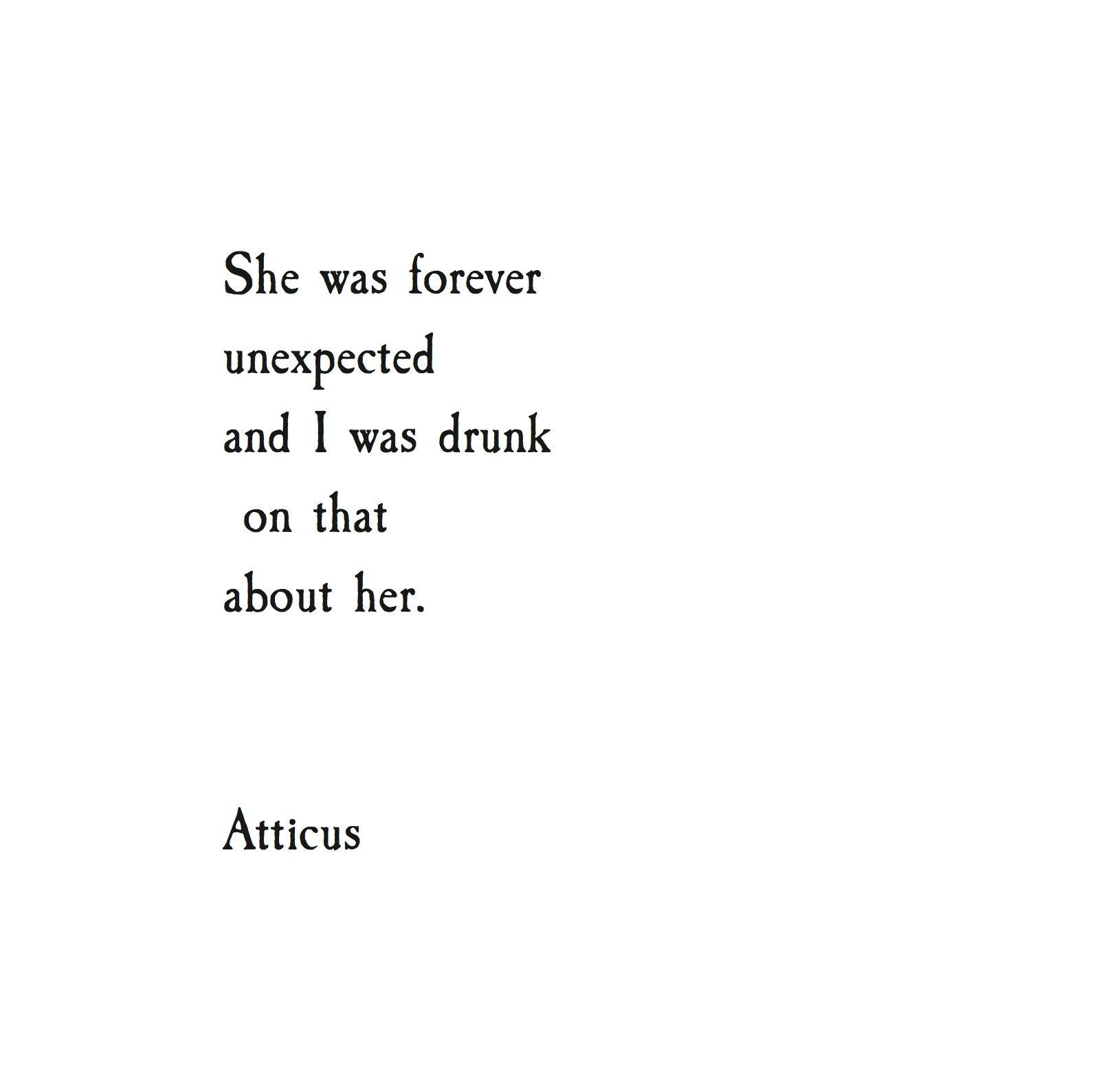 Atticus Quotes: Image Result For ATTICUS POET