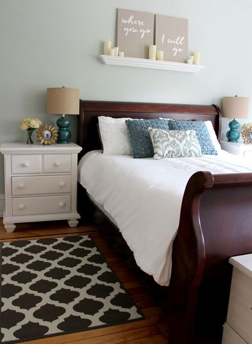 25 Dark Wood Bedroom Furniture Decorating Ideas | Home decorating ...
