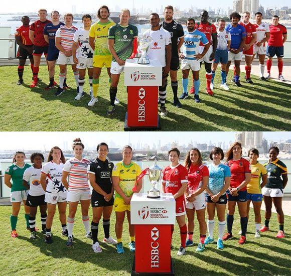 Captains Gather Ahead Of Sevens Series Opener In Dubai Captain Dubai Rugby Sevens
