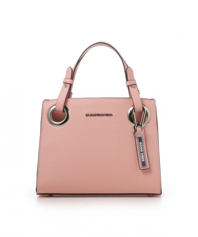 be3d37321c Samantha Vega By Samantha Thavasa Logo Belt Hand Shoulder Bag Small   SamanthaThavasa  HandShoulderbag