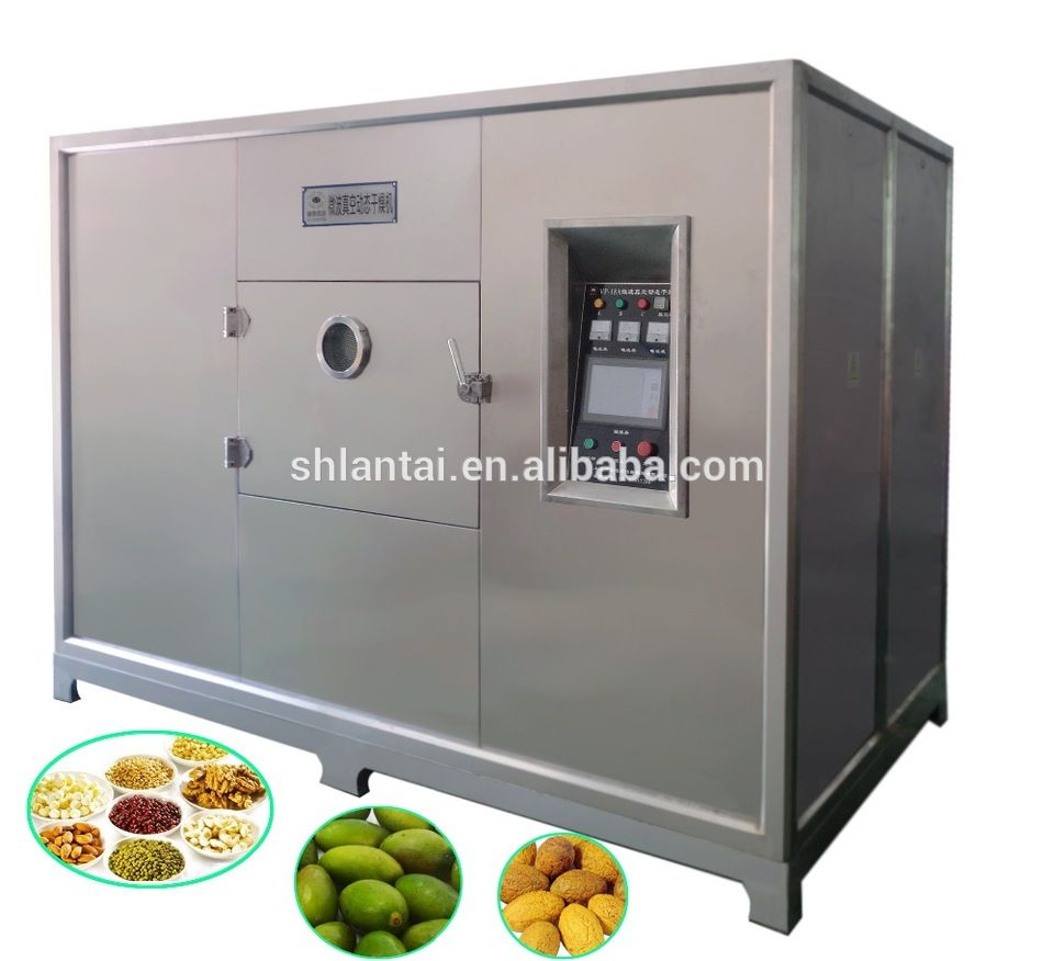 Industrial Microwave Food Fruit Dehydrator Machine
