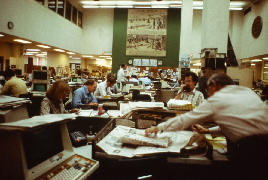 1980 S Chicago Office Google Search Chicago Tribune Tribune Newsroom