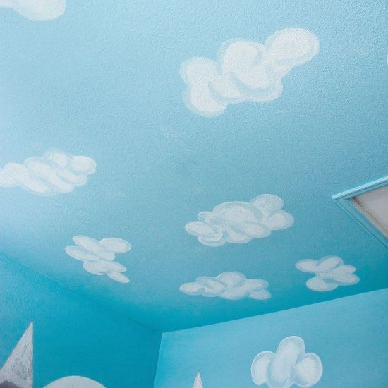 DIY Cloud Ceiling: It's easier than you would think!