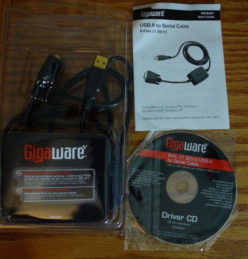 GIGAWARE USB SERIAL DRIVER FREE