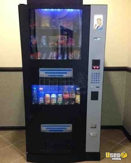 Rs900 Snack Soda Combo Vending Machines For Sale In California