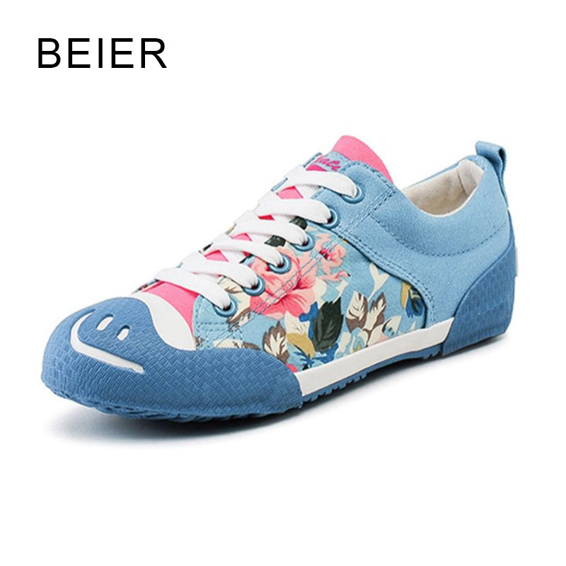 600c62e312a6 Top Quality 2017 New Design Flower Fashion Casual Rubber Shoes Women Casual Shoes  Woman Ladies Lace